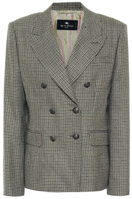 Etro Exclusive to Mytheresa Wool tweed blazer