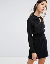 Vero Moda Shirred Waist Mini Dress