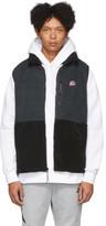 Nike Black Sherpa Fleece Vest