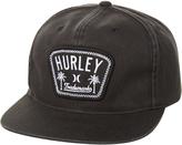 Hurley Roped In Snapback Cap Black