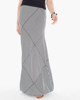 Chico's Summertime Etch Maxi Skirt