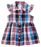 Joe Fresh Plaid Dress (Baby Girls)