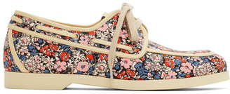 Gucci Multicolor Liberty Edition Floral Boat Shoes