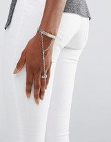 Low Luv x Erin Wasson Silver Plated Hand Harness