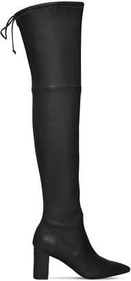 Stuart Weitzman 75mm Lesley Stretch Leather Boots