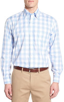 Tailorbyrd &Plumbago& Regular Fit Plaid Sport Shirt (Big & Tall)