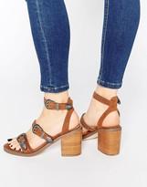 Asos TACO Western Heeled Sandals