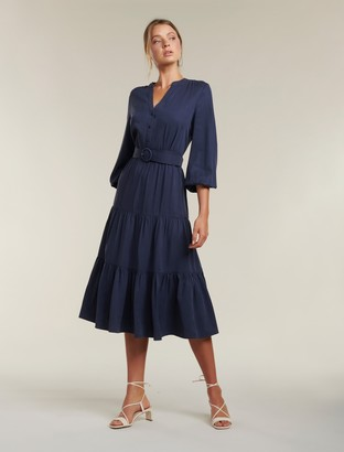 Ever New Alana Tiered Maxi Dress