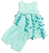 Princess Faith Two-Piece Petal Dress and Bloomer Set