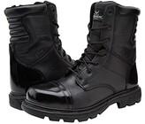 Thorogood 8 Inch Side Zipper Work Boot (Black) Men's Work Boots