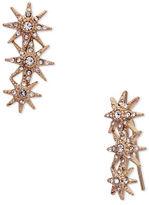 Jenny Packham Crystal Embellished Ear Crawler Earrings