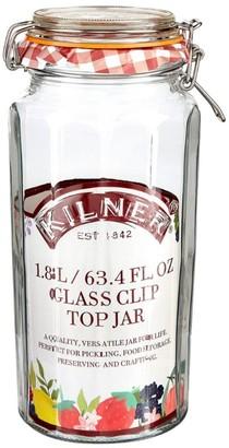Kilner Facetted Clip Top Jar (1.8L)