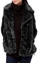 French Connection Nariko Oversized Faux Fur Vest
