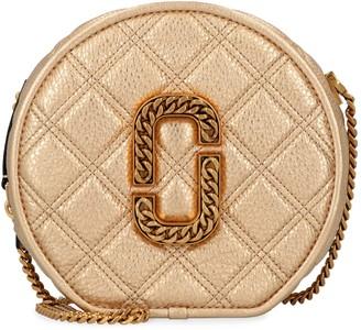 Marc Jacobs The Status Metallic Leather Shoulder Bag