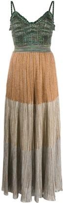 Missoni Colour-Block Knit Maxi Dress