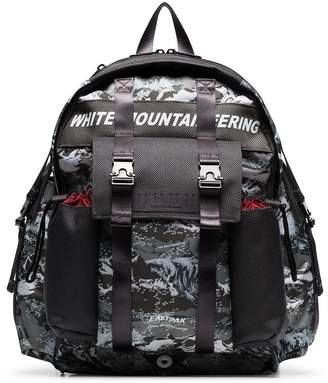 Eastpak x White Mountaineering camouflage print backpack