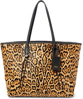Polo Ralph Lauren Leopard-Print Haircalf Tote