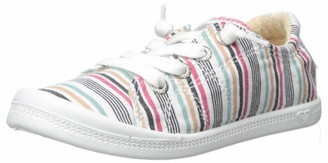 Roxy Girl's Bayshore Slip On Sneaker Shoe