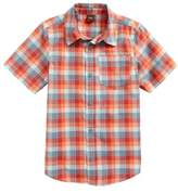 Tea Collection Plaid Short Sleeve Shirt
