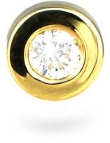Lena Cohen Fine Jewellery 18k Yellow Gold Golden Bezel Diamond Stud