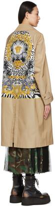 Junya Watanabe Versace Edition Gabardine Coat