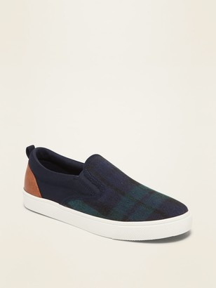Old Navy Brushed-Canvas Slip-Ons for Boys