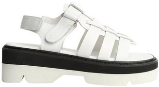 Tony Bianco Jarah White Sheep Nappa Sandals