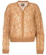 Aula lace bomber jacket