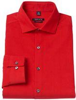 Van Heusen Men's Slim-Fit Corduroy Spread-Collar Dress Shirt