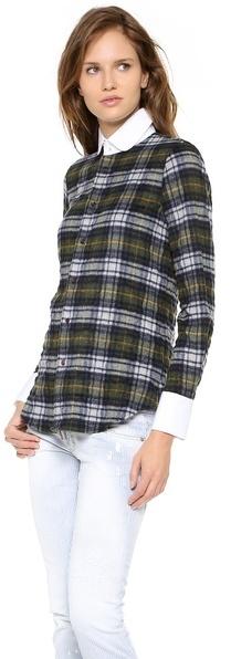 DSquared DSQUARED2 Kaiser Dean Contrast Shirt