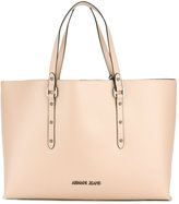 Armani Jeans double handles large tote - women - Polyester/PVC - One Size