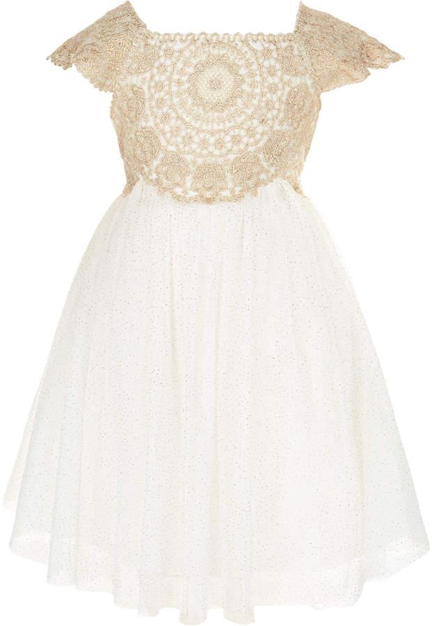 Monsoon Baby Estella Sparkle Dress