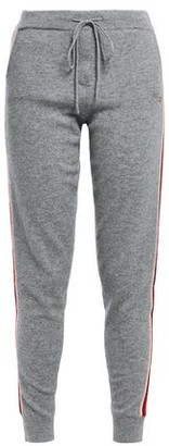 Chinti and Parker Chinti & Parker Ringmaster Striped Wool And Cashmere-blend Track Pants