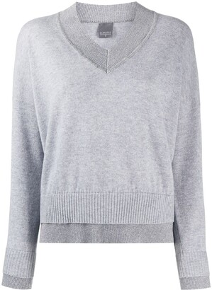 Lorena Antoniazzi V-Neck Knitted Top