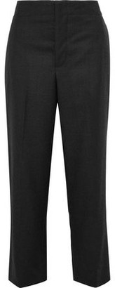 Marni Cropped Wool-twill Straight-leg Pants