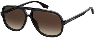 Marc Jacobs Square Two-Tone Acetate Sunglasses