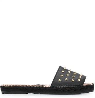 Carvela Spike Stud Slide Sandals