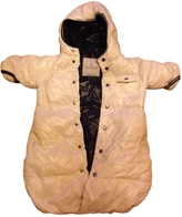Moncler White baby Jacket