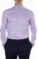 Hardy Amies Micro Herringbone Shirt