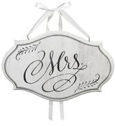 Lillian Rose 'Mrs.' Oval Sign