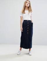 Gestuz Christina Dark Denim Skirt
