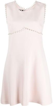 Giambattista Valli Pearl Trimmed Dress
