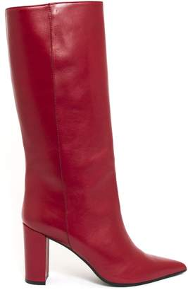 Aldo Castagna Iris Boot In Red Leather