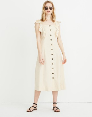 Madewell Princess-Seamed Maxi Dress