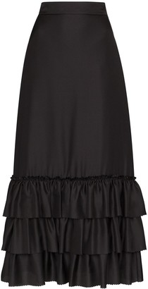 The Vampire's Wife The Trouble In Mind midi skirt