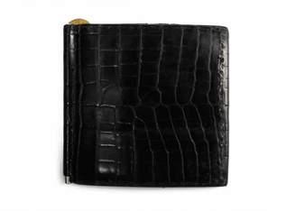 Hermes Black Crocodile Wallets