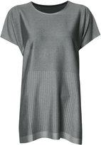 Pleats Please By Issey Miyake - T-shirt dress - women - Nylon/Polyester/Polyurethane - 3