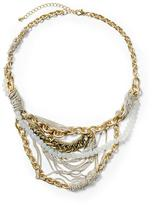 Tinley Road Multi Chain and Opalesque Necklace