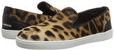 Dolce & Gabbana Leopard Slip-On Sneaker (Little Kid)