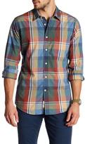 Dockers Slim Fit Shia Long Sleeve Plaid Shirt